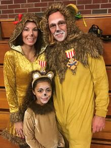 Family Lions- Halloween