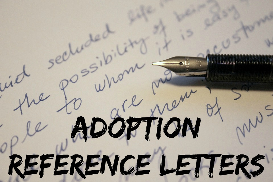 Adoption reference letters how to expocarfo Gallery