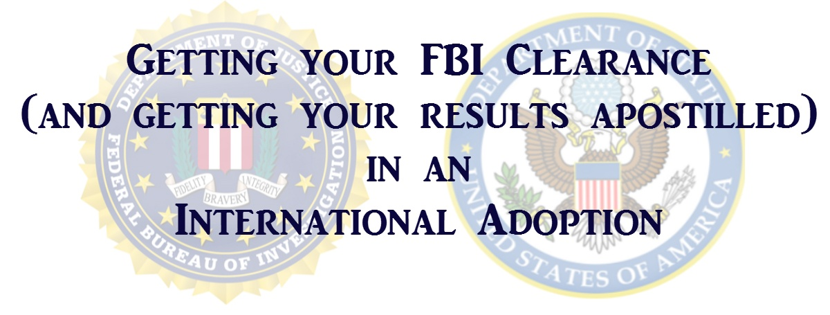 how to get fbi clearance