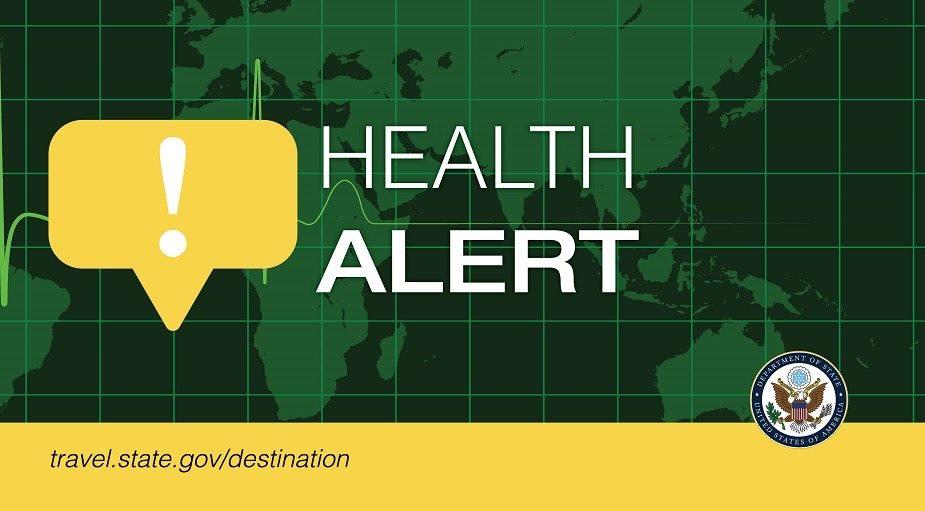 Ukraine health alert